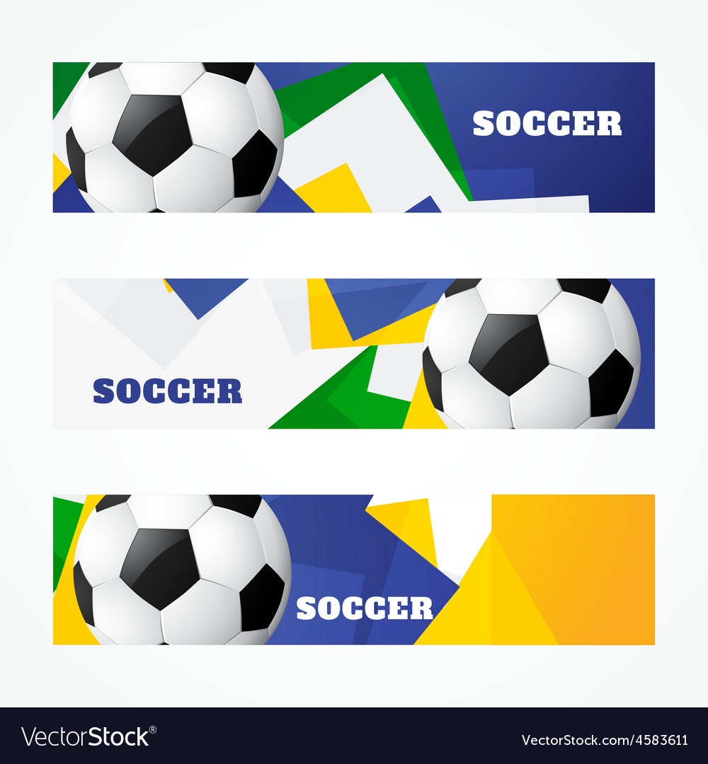 Header of football design vector | Price: 1 Credit (USD $1)
