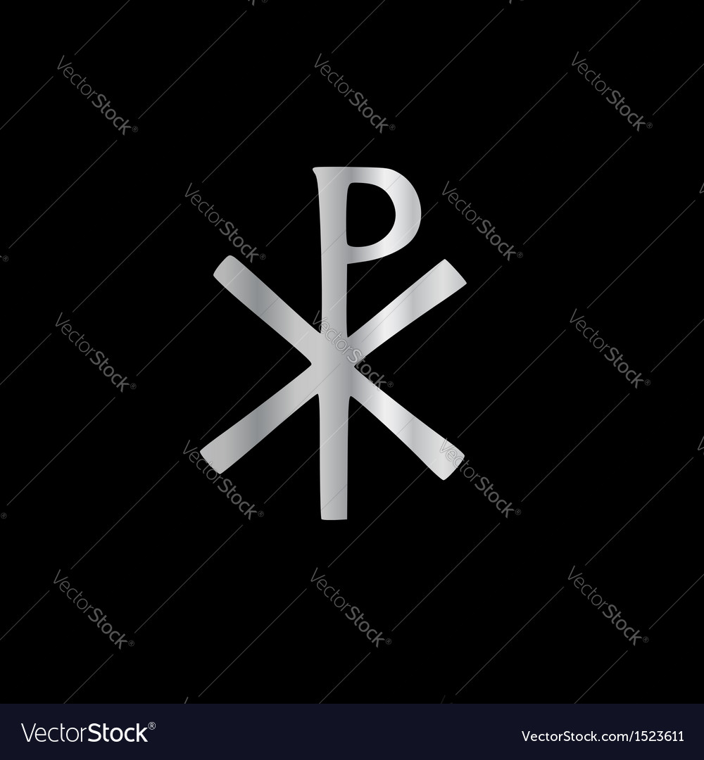 Monogram of christ - chi rho vector | Price: 1 Credit (USD $1)