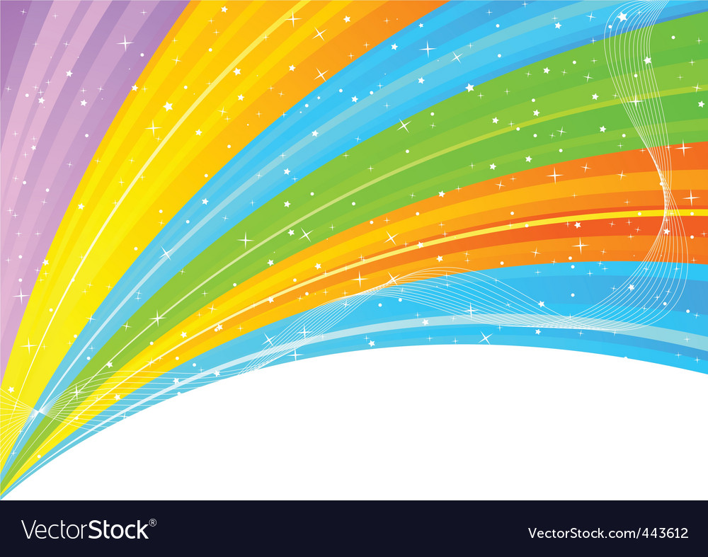 Abstract colorful background with star vector | Price: 1 Credit (USD $1)