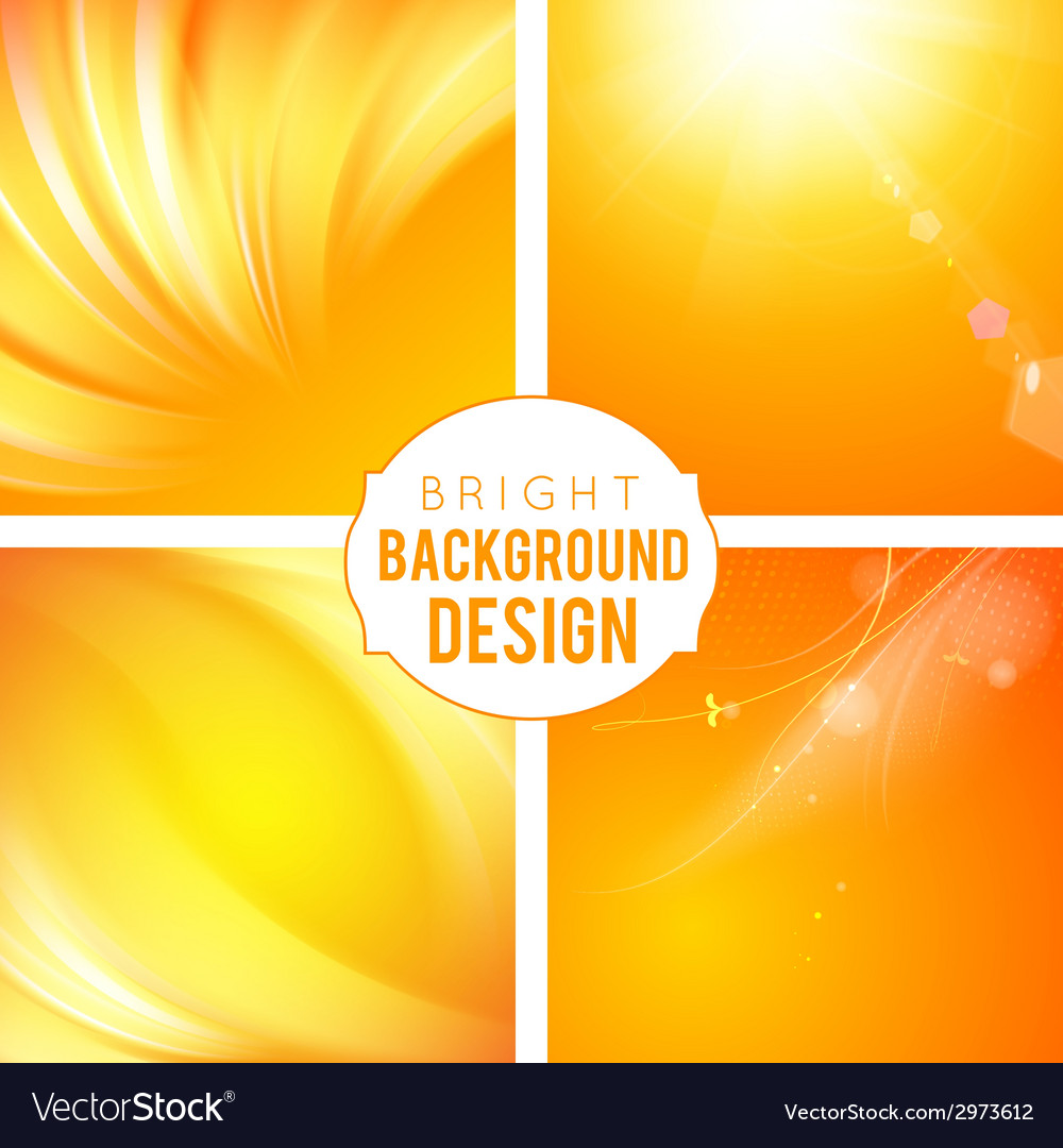 Bright background set vector | Price: 1 Credit (USD $1)