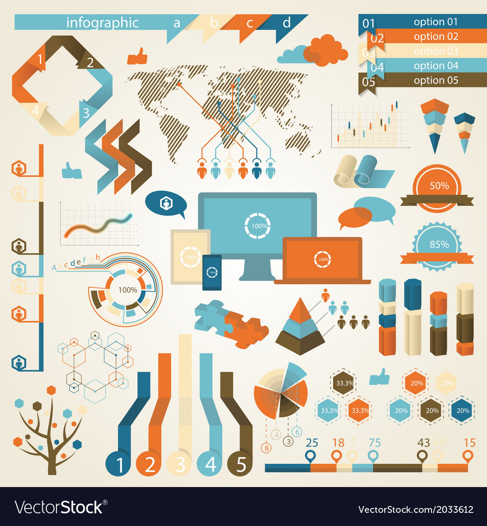 Infographic elements and communication concept vector | Price: 1 Credit (USD $1)