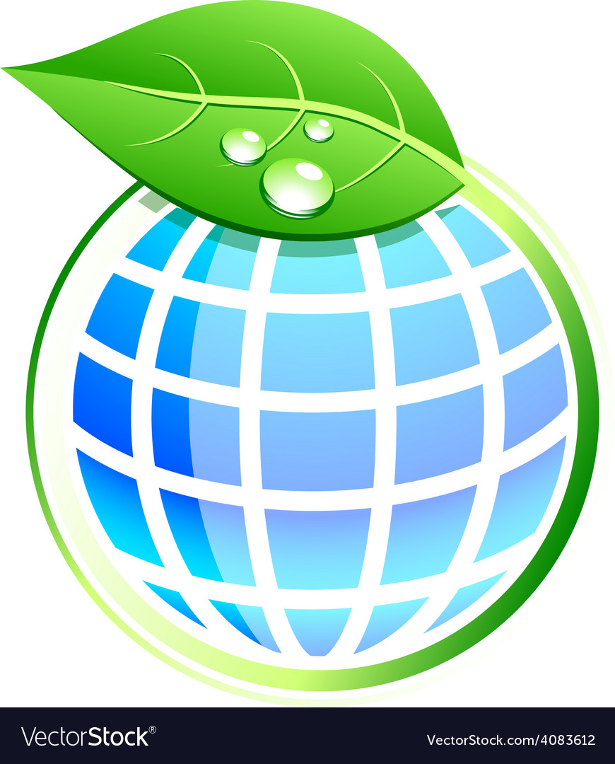 Leaf and earth vector   Price: 1 Credit (USD $1)