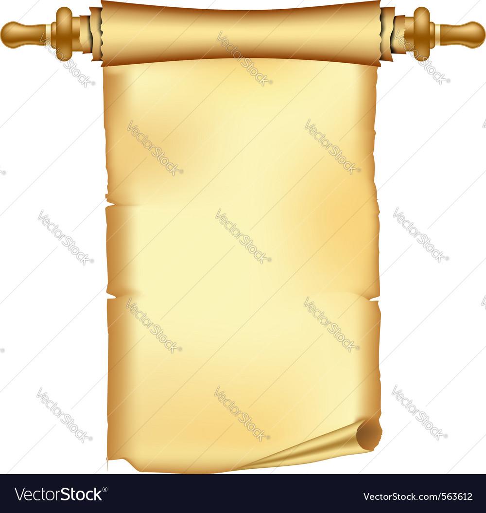 Vintage scroll vector   Price: 1 Credit (USD $1)