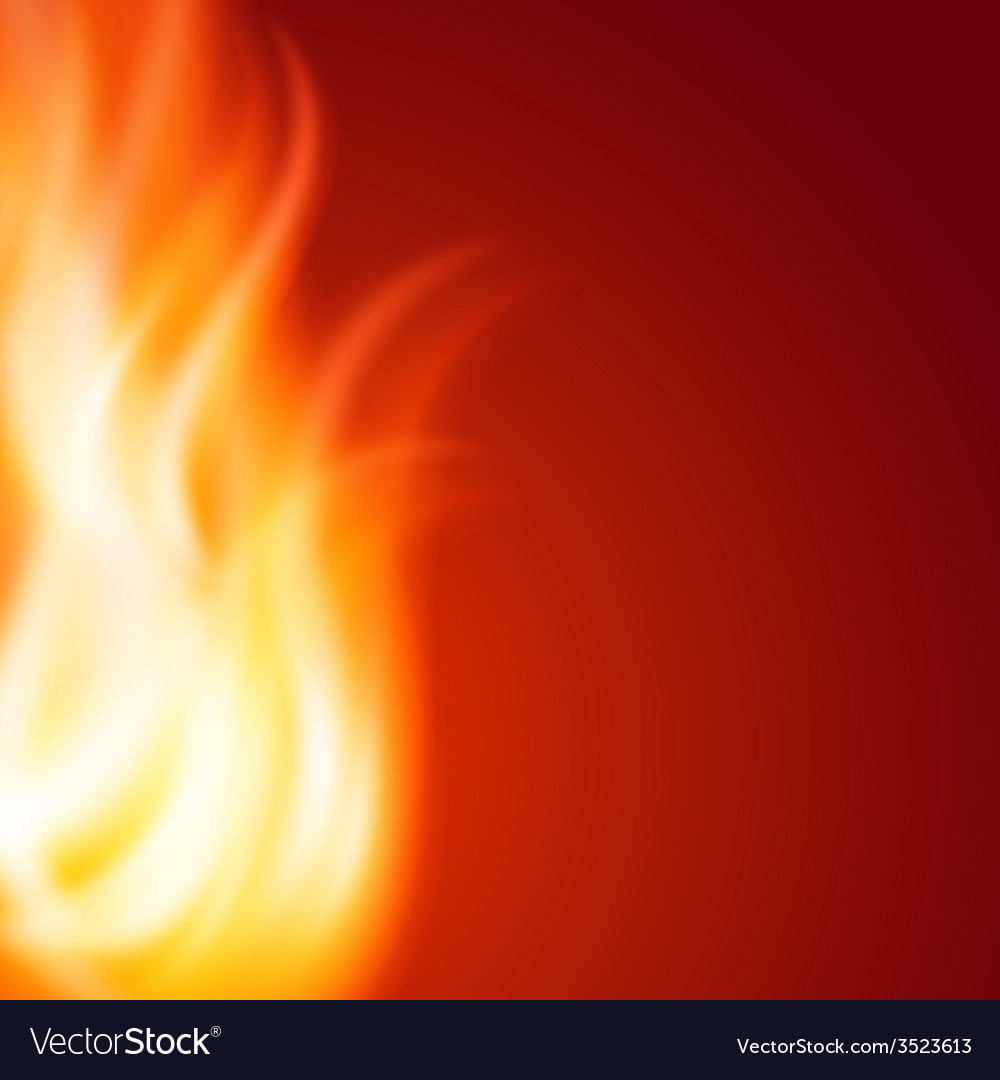 Abstract fire background vector | Price: 1 Credit (USD $1)