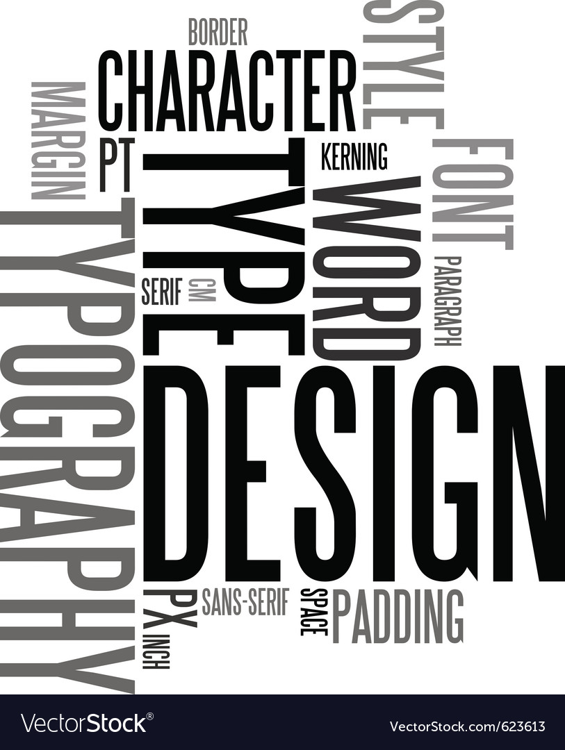 Design and typography vector | Price: 1 Credit (USD $1)