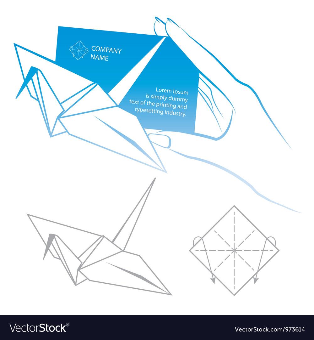 Origami symbolic vector   Price: 1 Credit (USD $1)