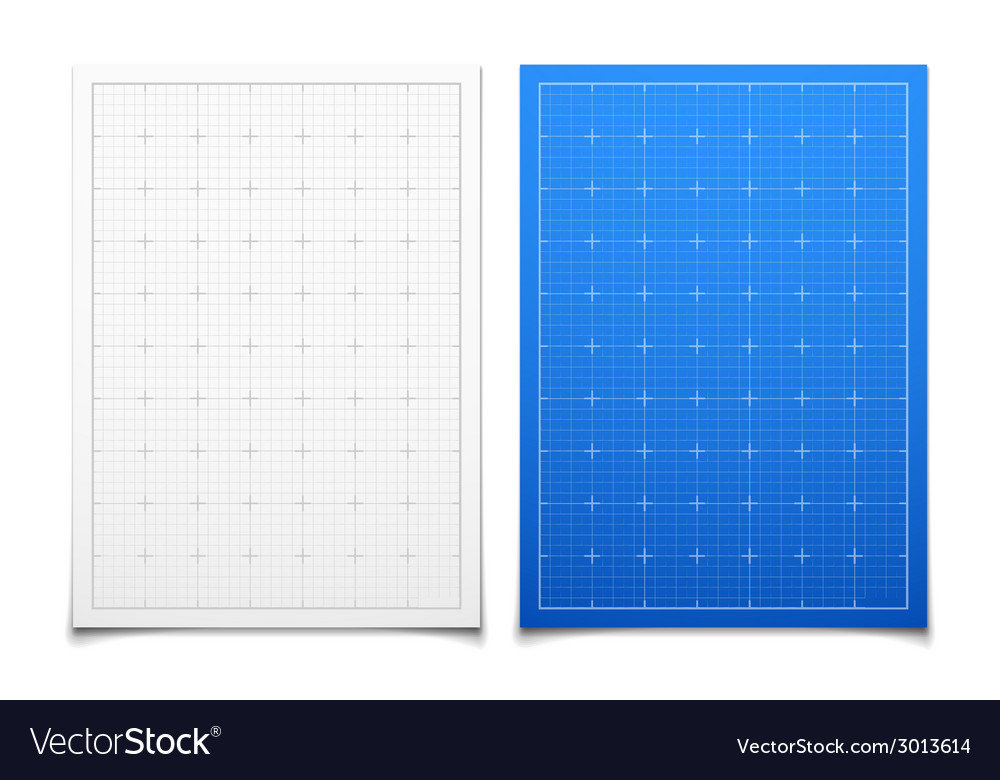 White and blue isolated square grid set with vector | Price: 1 Credit (USD $1)
