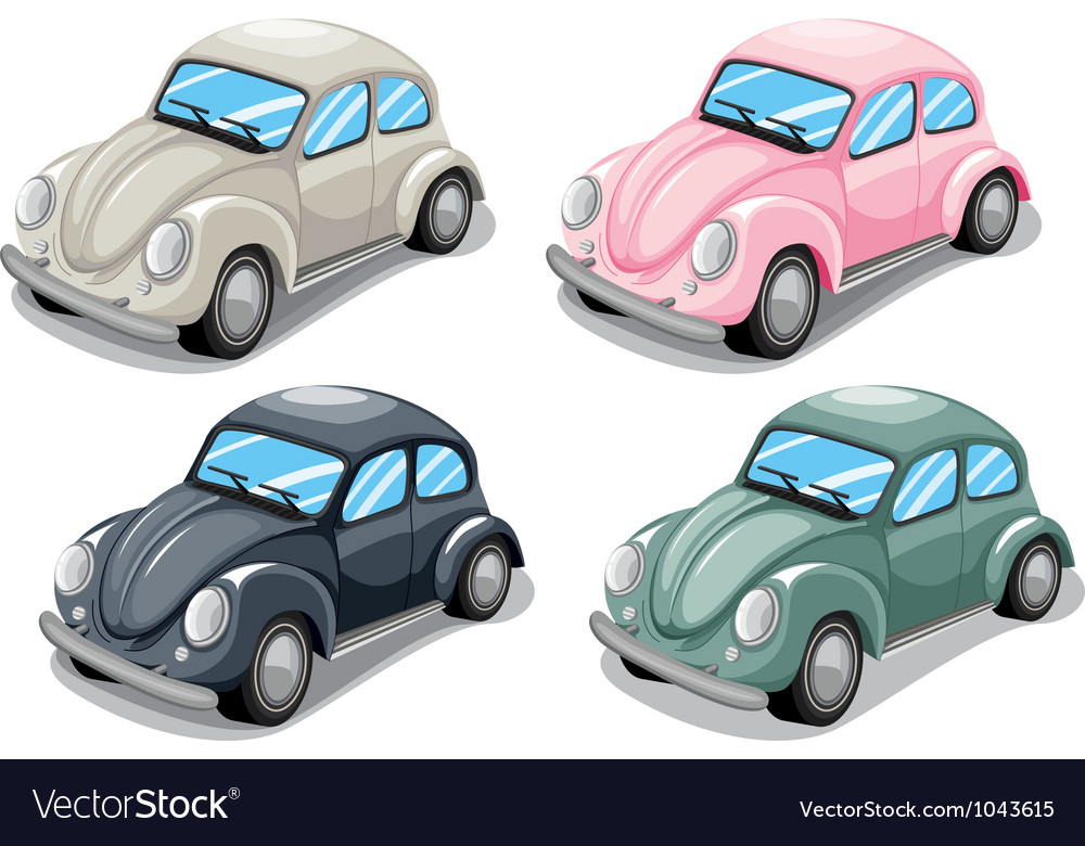Toy beetle car vector | Price: 1 Credit (USD $1)