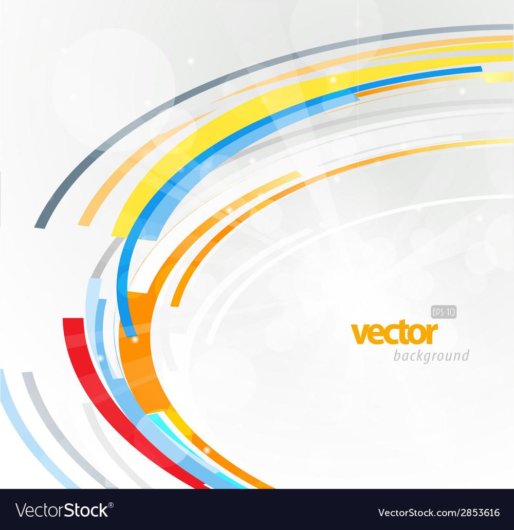 Abstract futuristic orange 3d circle vector | Price: 1 Credit (USD $1)