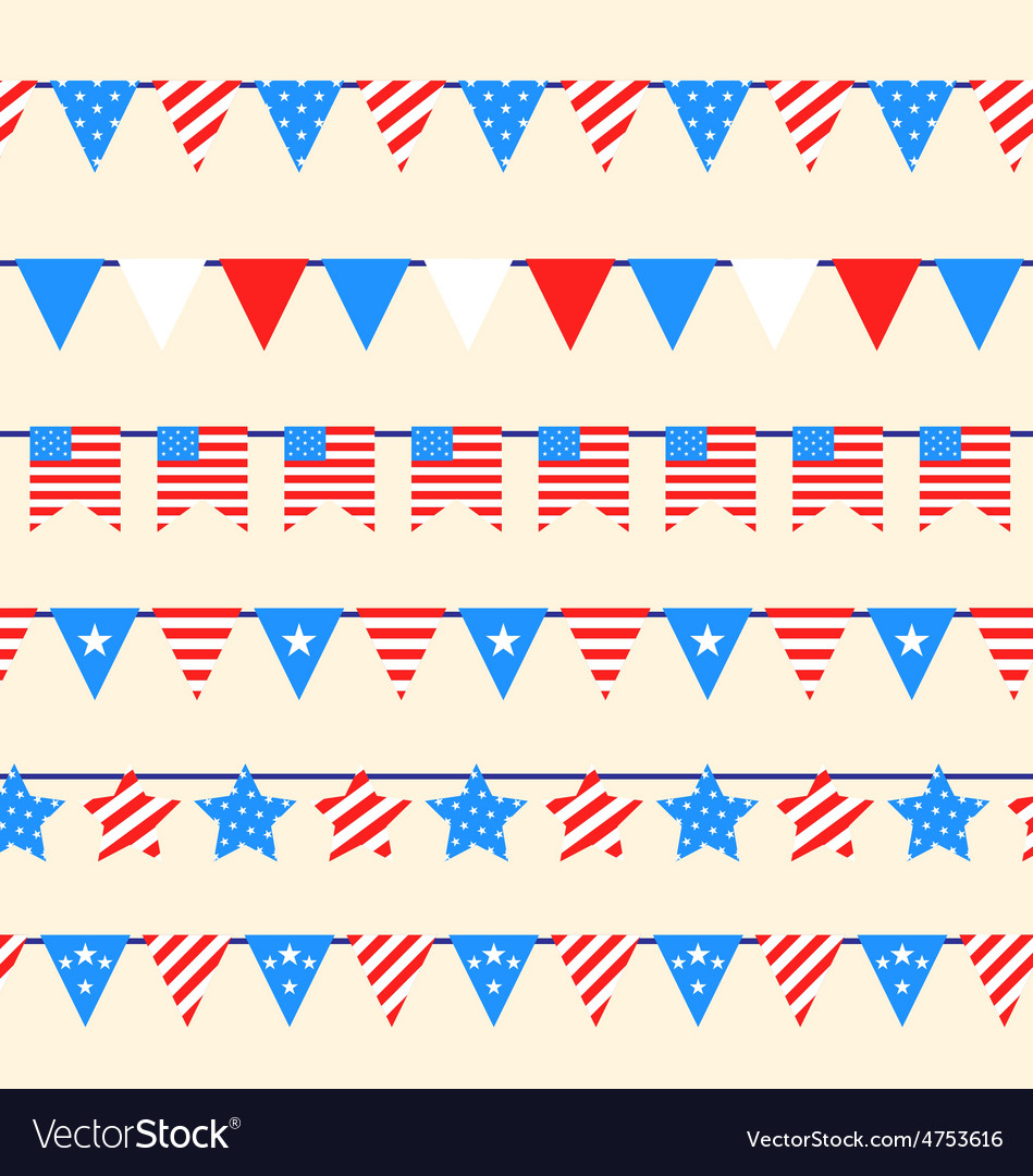 Hanging bunting pennants vector | Price: 1 Credit (USD $1)