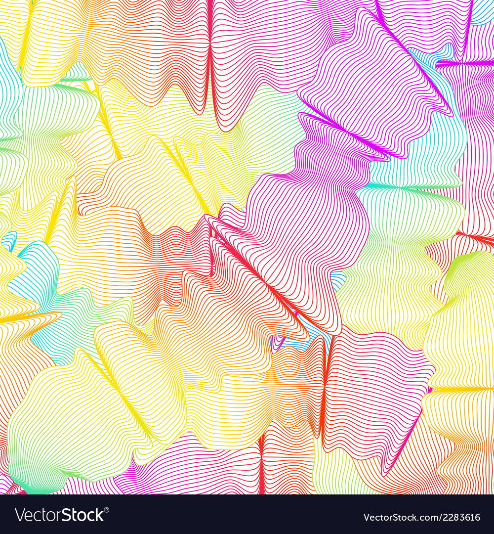 Wavy curved colored lines eps 8 vector | Price: 1 Credit (USD $1)