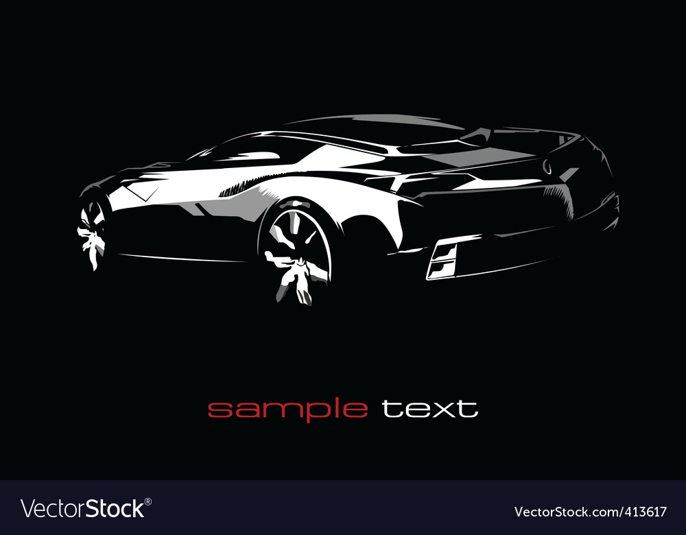 Concept car vector | Price: 1 Credit (USD $1)