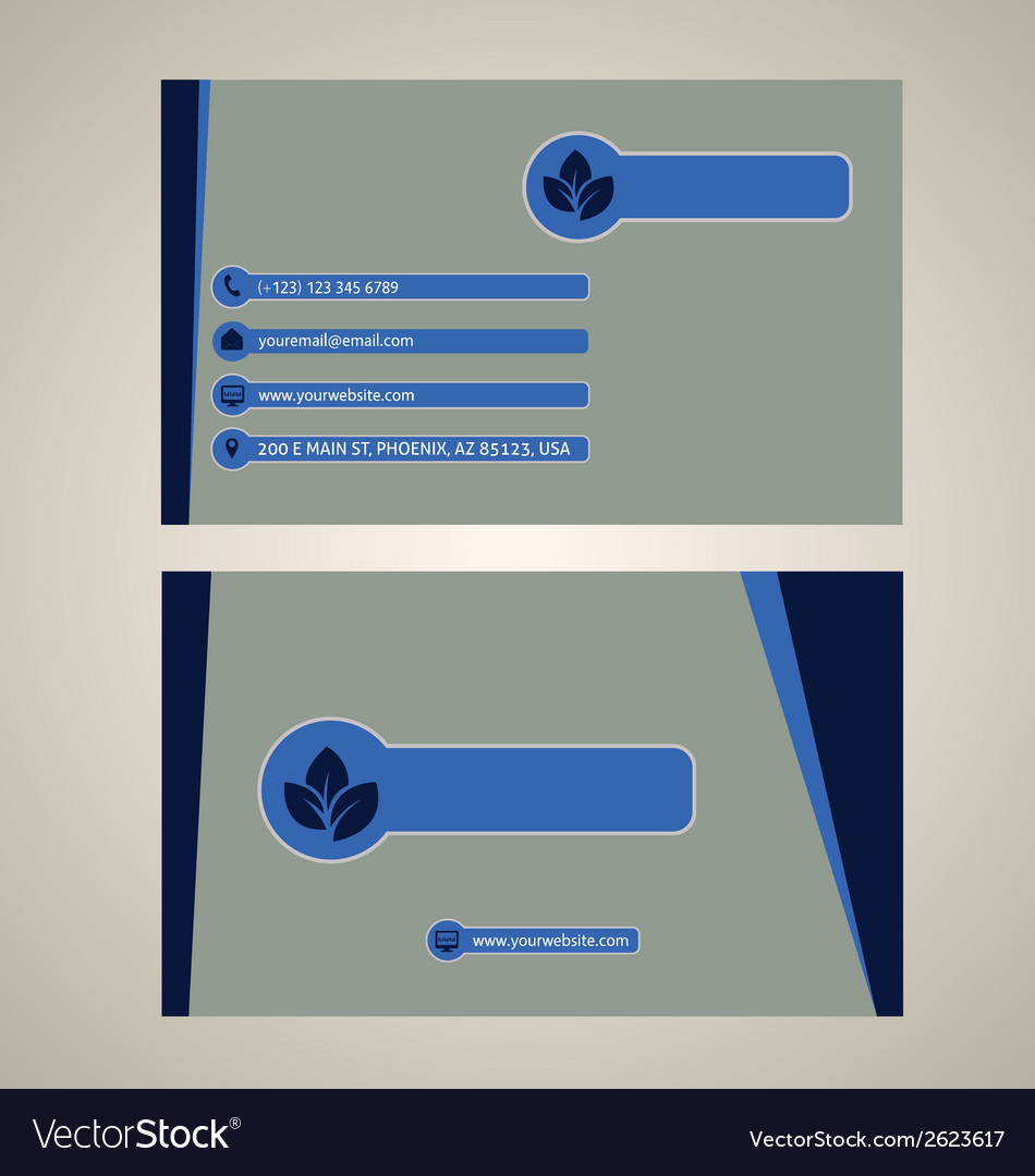 Metro business card vector | Price: 1 Credit (USD $1)