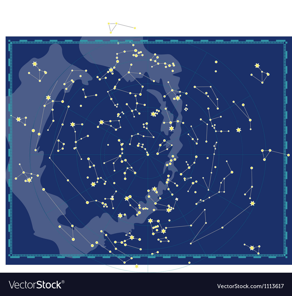 Starmap vector | Price: 1 Credit (USD $1)