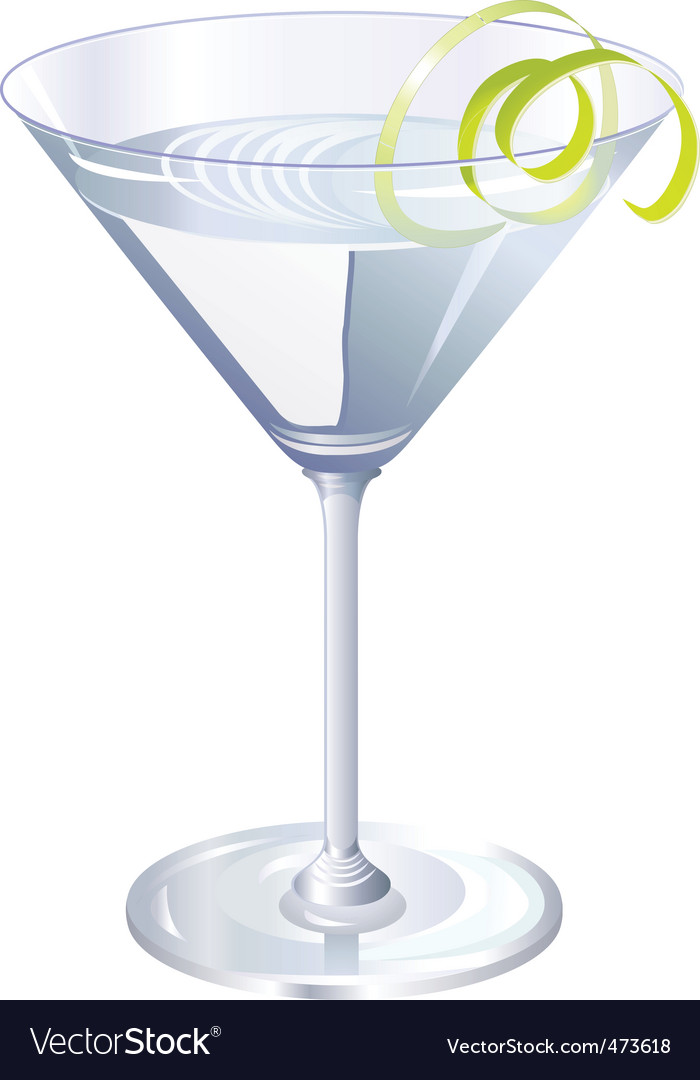 Cocktail drink vector