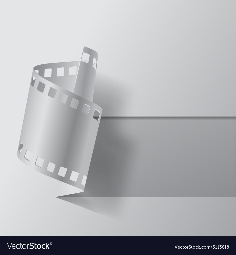 Film banner vector | Price: 1 Credit (USD $1)
