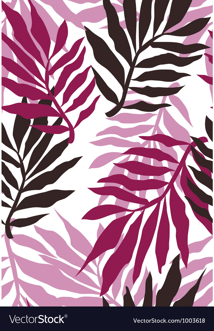 Seamless fabric floral pattern vector | Price: 1 Credit (USD $1)
