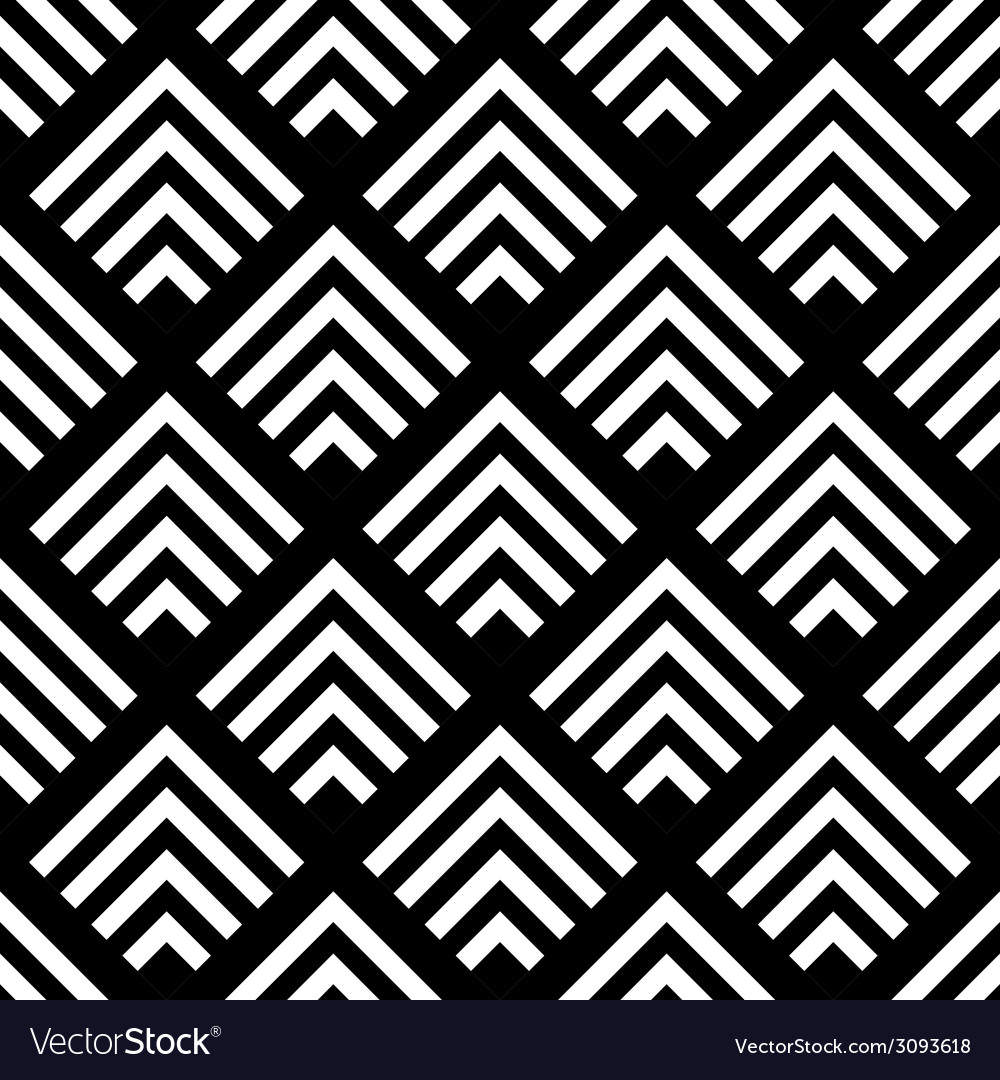 Seamless geometric background simple black and vector | Price: 1 Credit (USD $1)