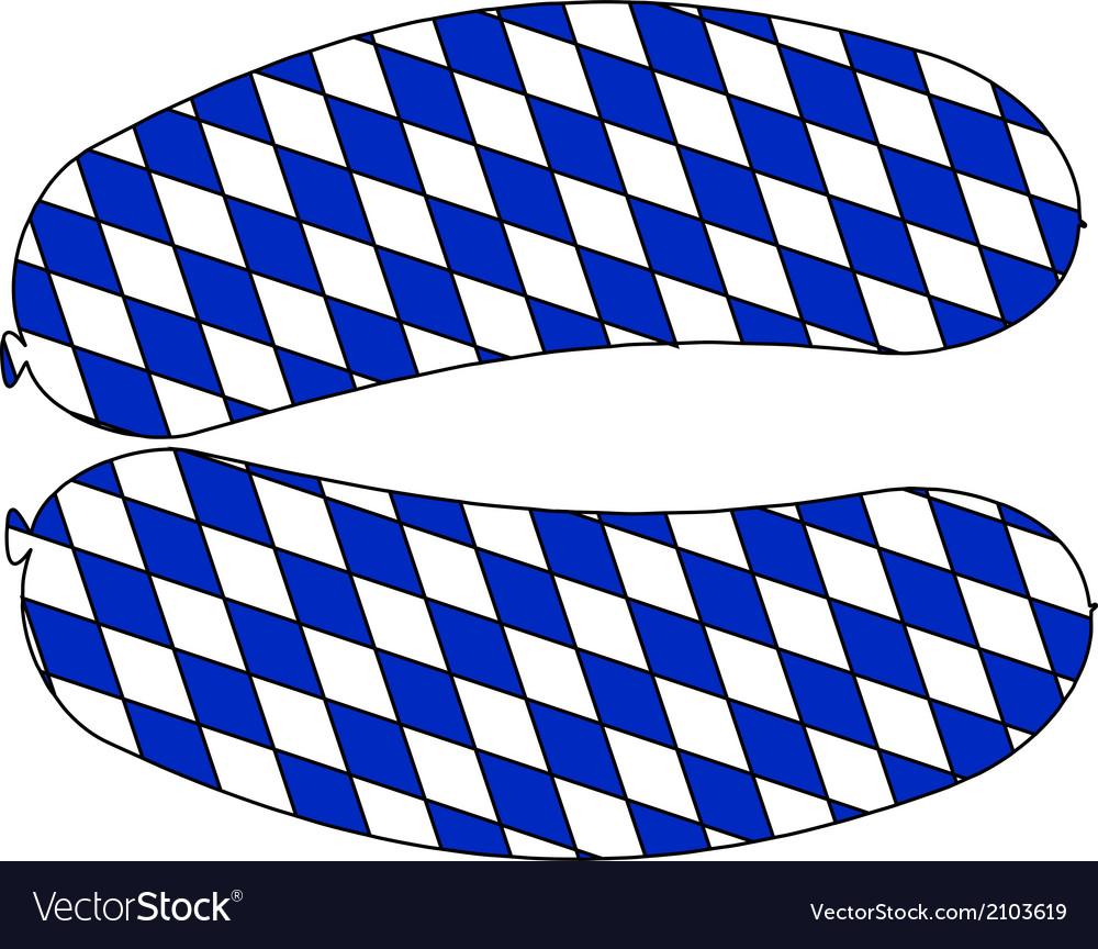 Bavarian sausage vector   Price: 1 Credit (USD $1)
