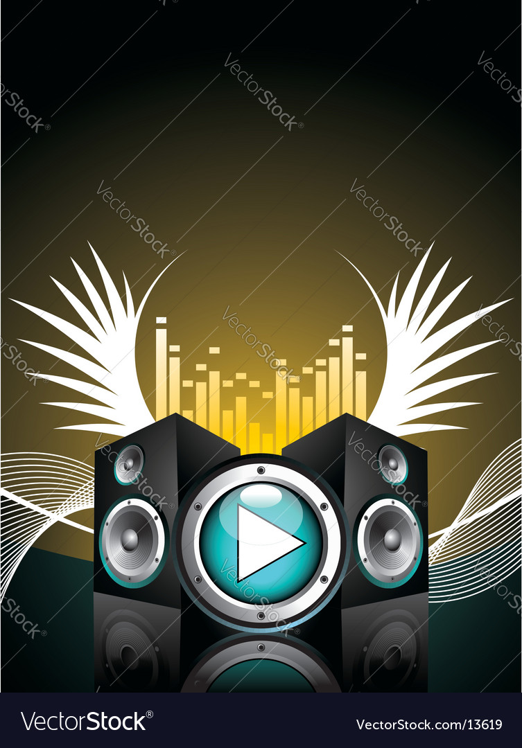 Illustration for musical theme vector | Price: 1 Credit (USD $1)