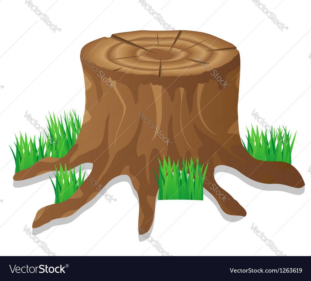 Icons stump vector | Price: 1 Credit (USD $1)