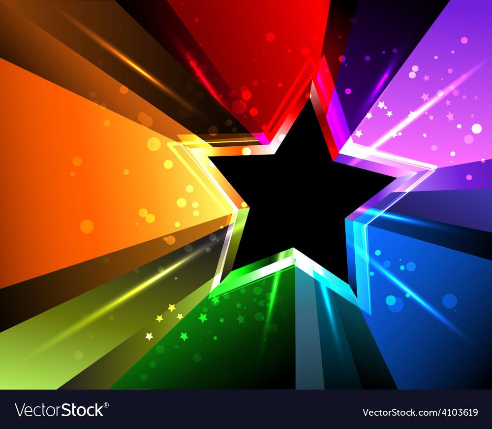 Rainbow star vector   Price: 1 Credit (USD $1)