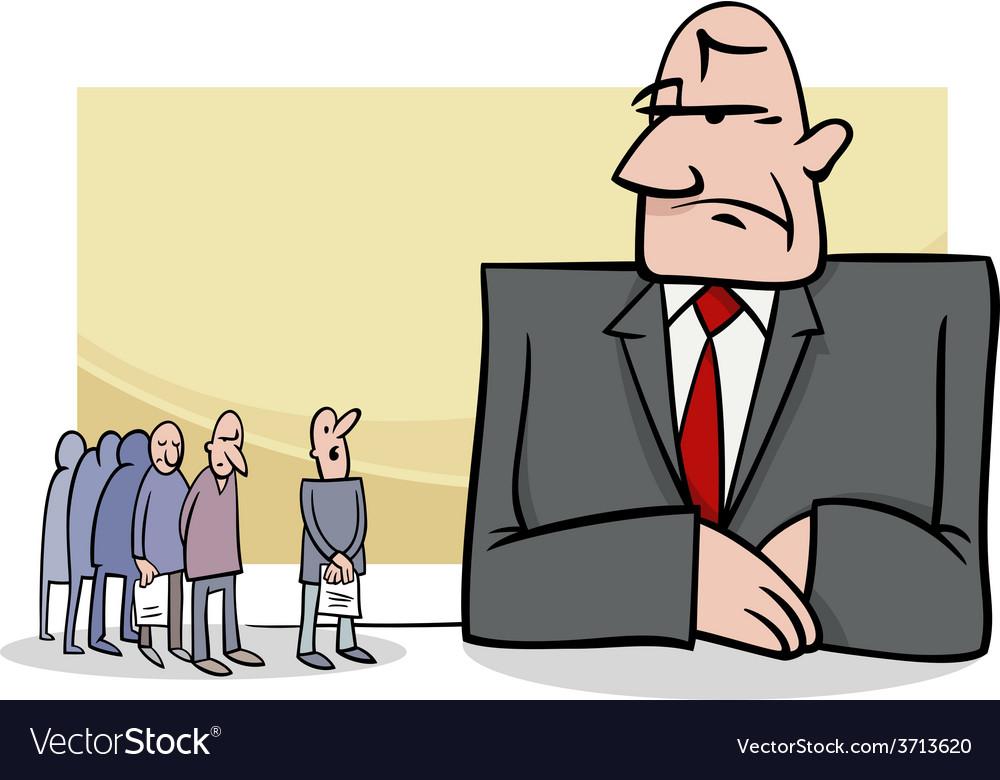People in bank cartoon vector