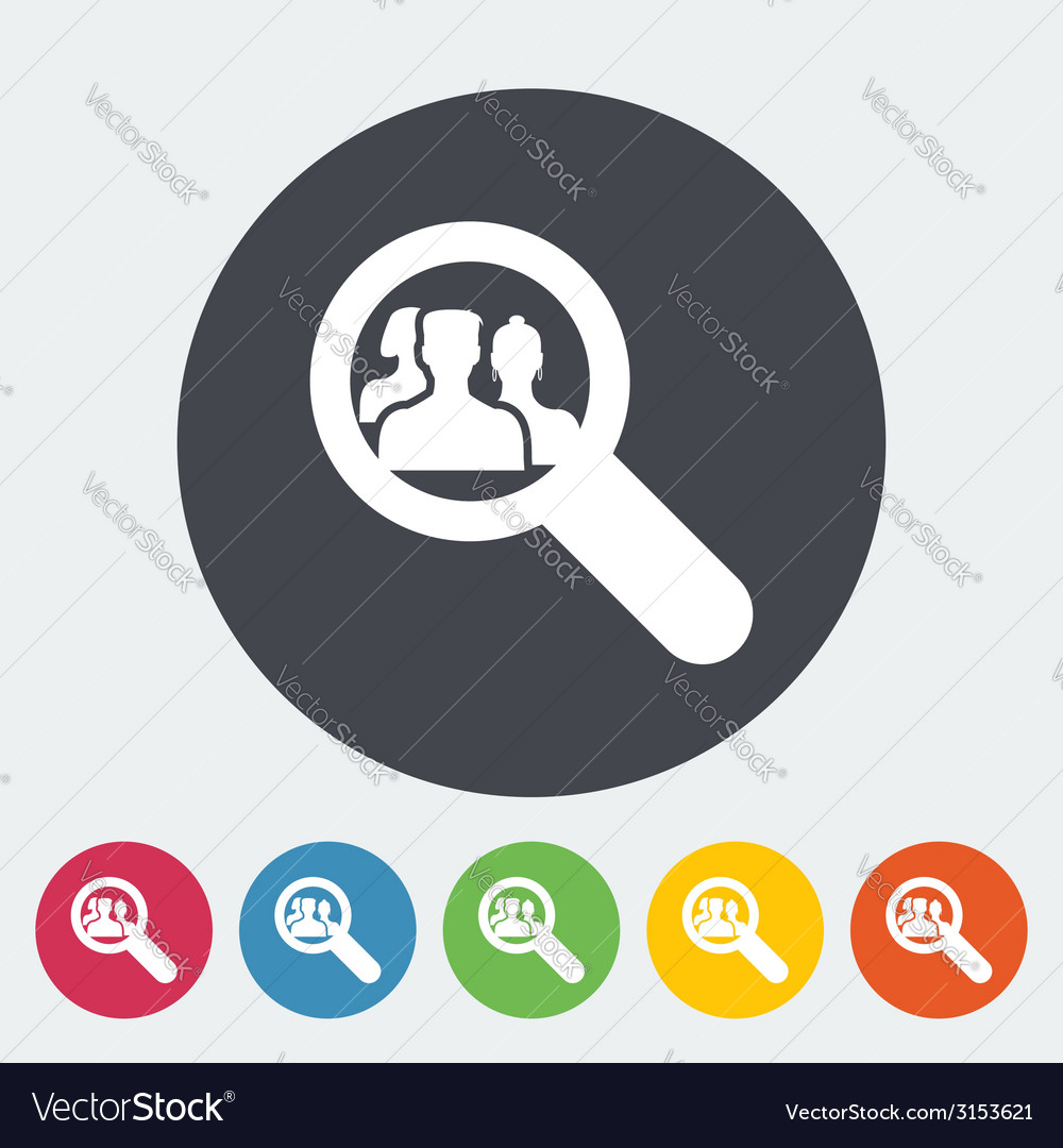 Find friends vector | Price: 1 Credit (USD $1)