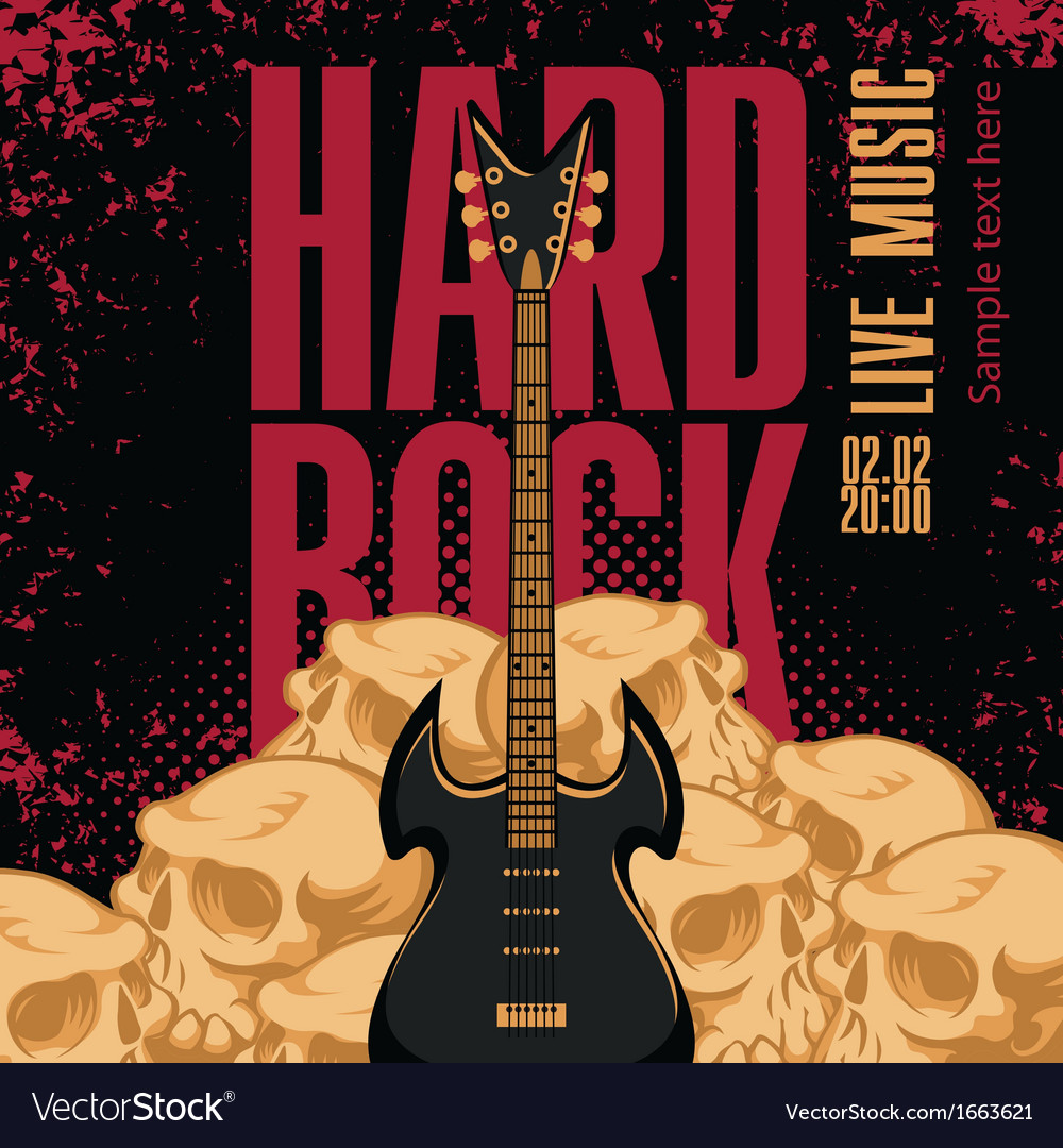 Hard rock vector | Price: 3 Credit (USD $3)