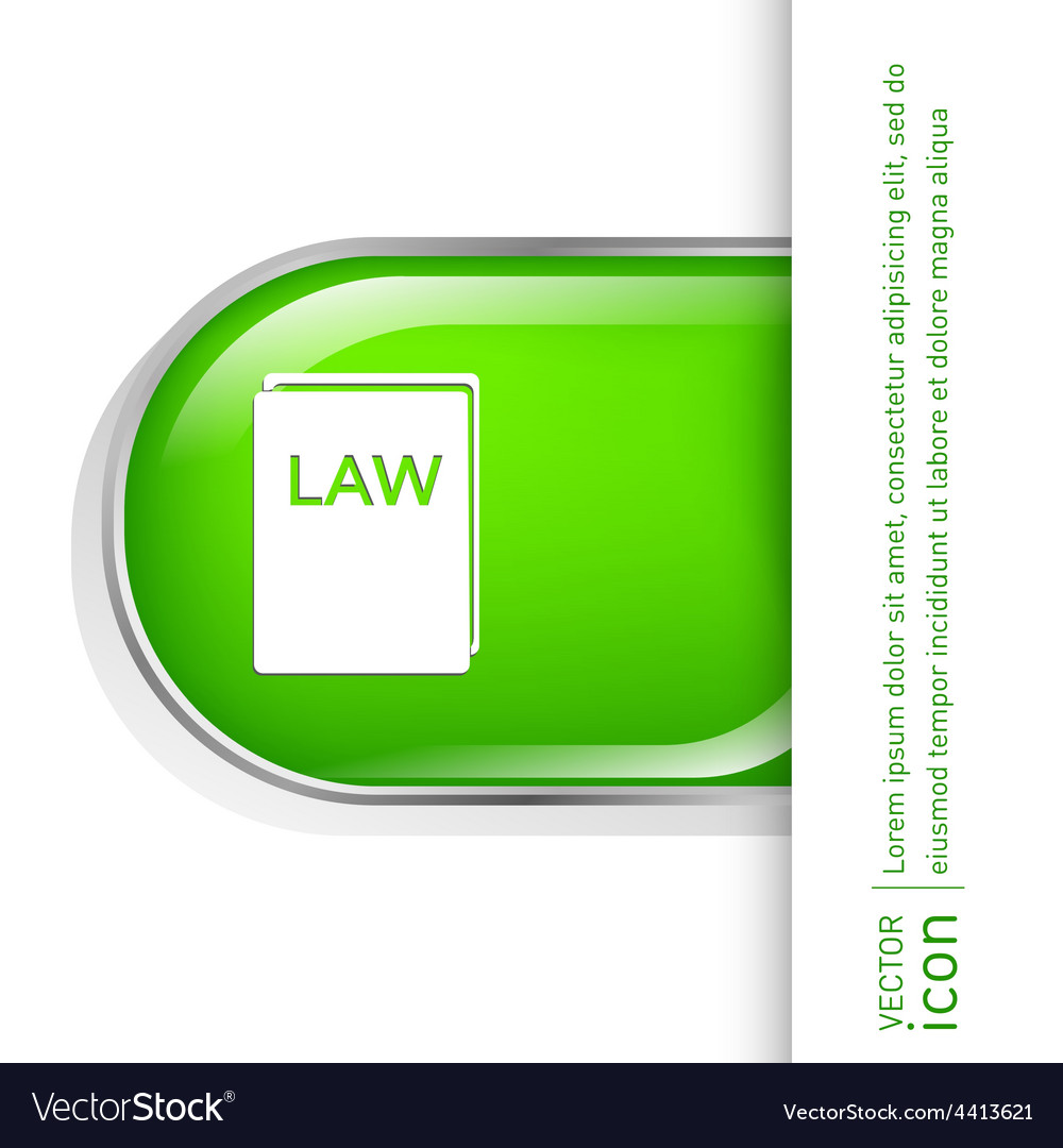 Law book icon set of laws symbol of justice vector   Price: 1 Credit (USD $1)