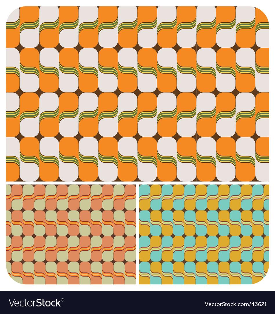 Retro swirls vector | Price: 1 Credit (USD $1)