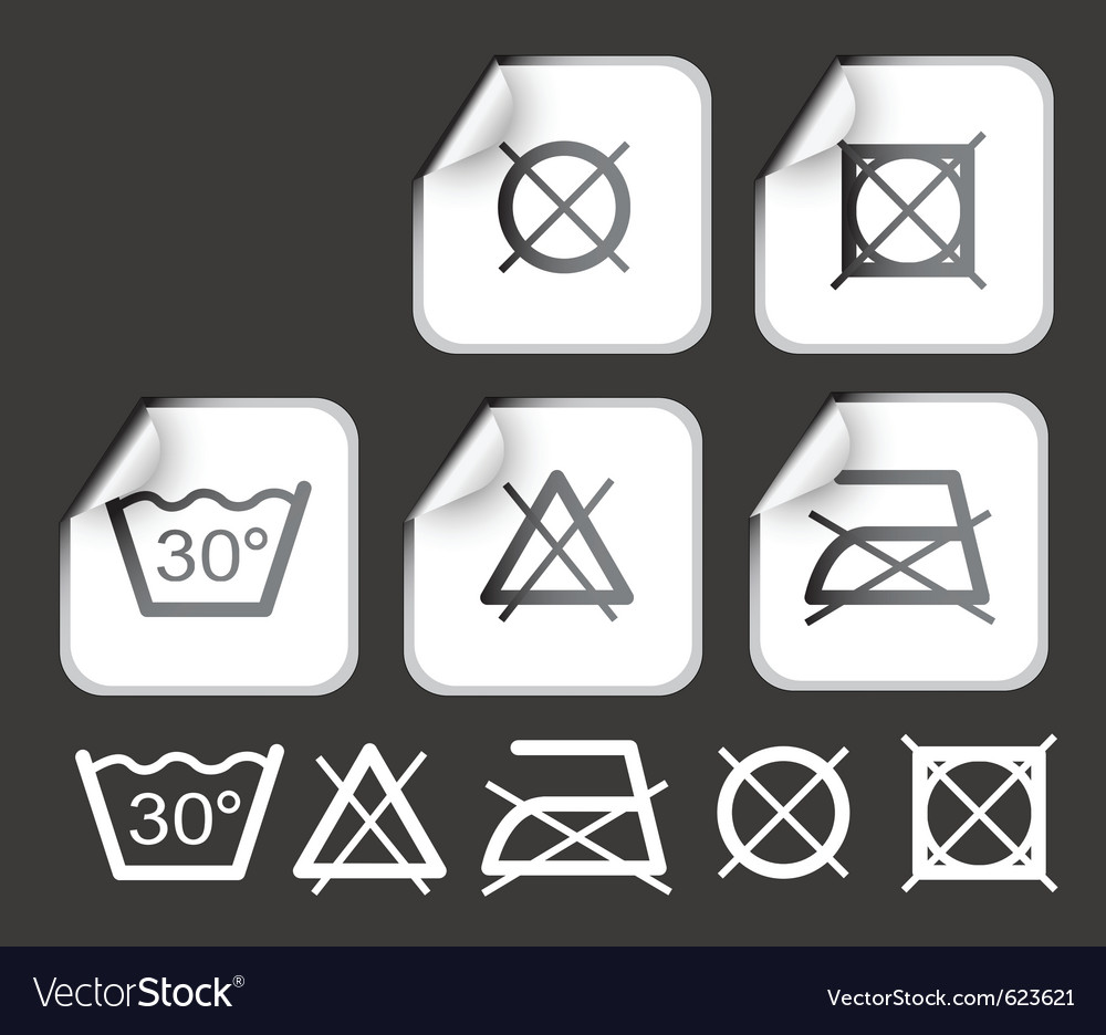 Stickers with washing vector | Price: 1 Credit (USD $1)