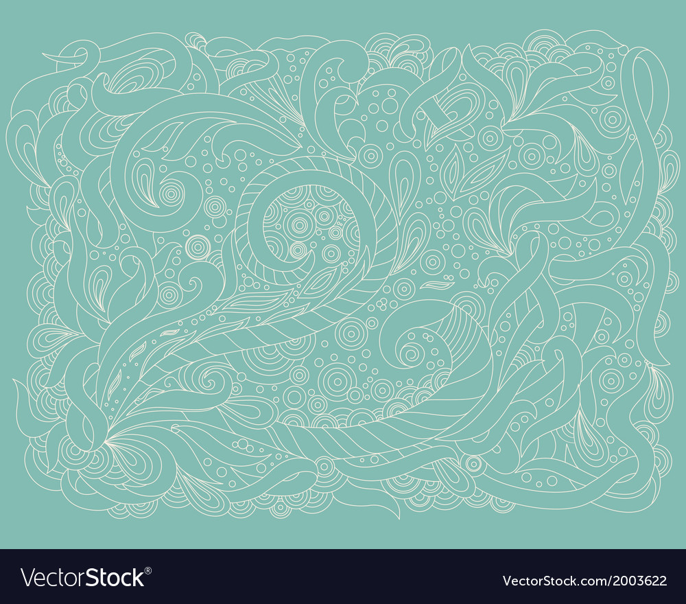 Abstract floral elements in indian mehndi style vector   Price: 1 Credit (USD $1)