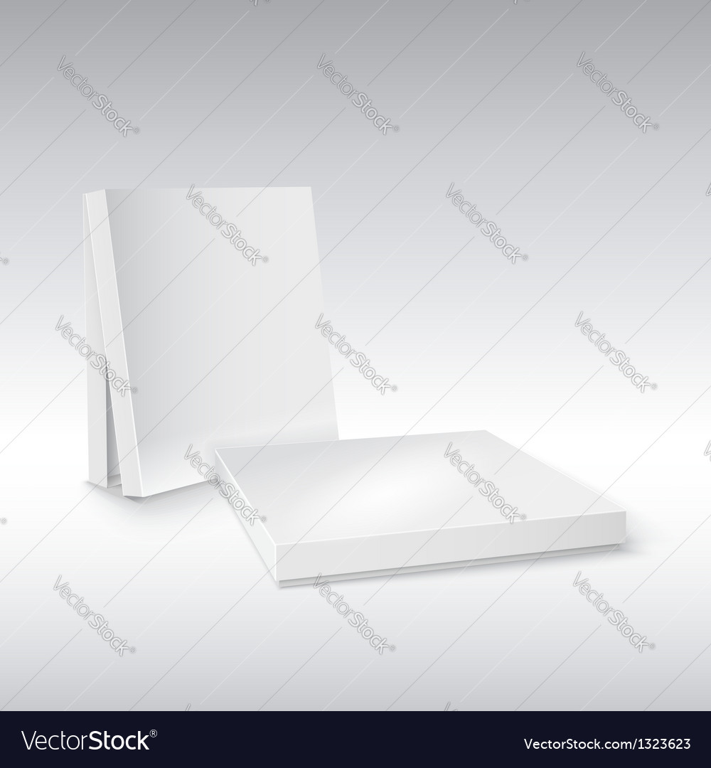 Box on white ready for your design vector | Price: 1 Credit (USD $1)