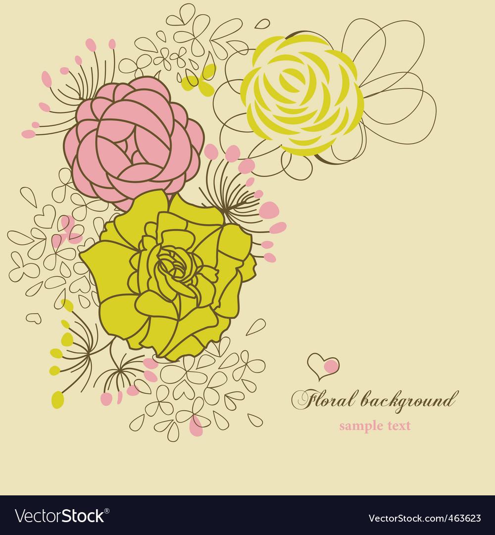 Floral corner vector   Price: 1 Credit (USD $1)