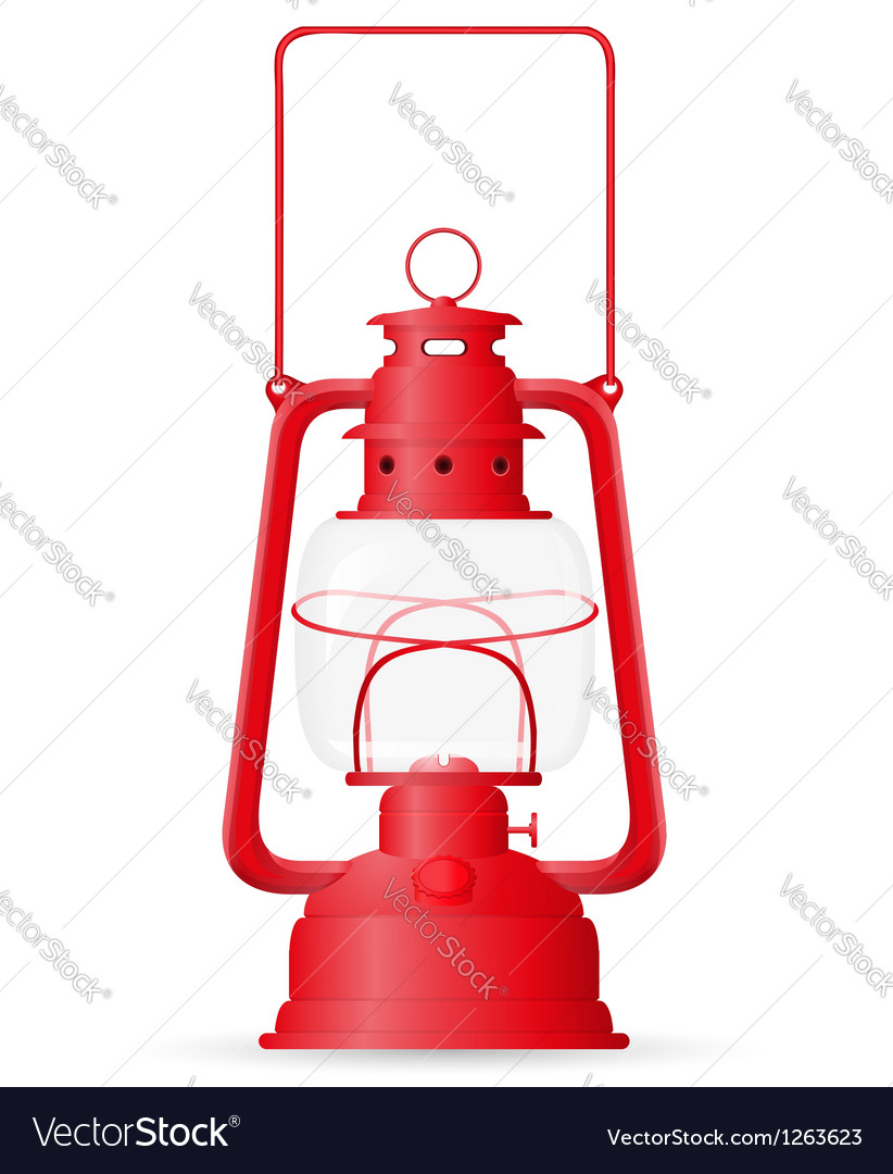 Kerosene lamp vector | Price: 1 Credit (USD $1)