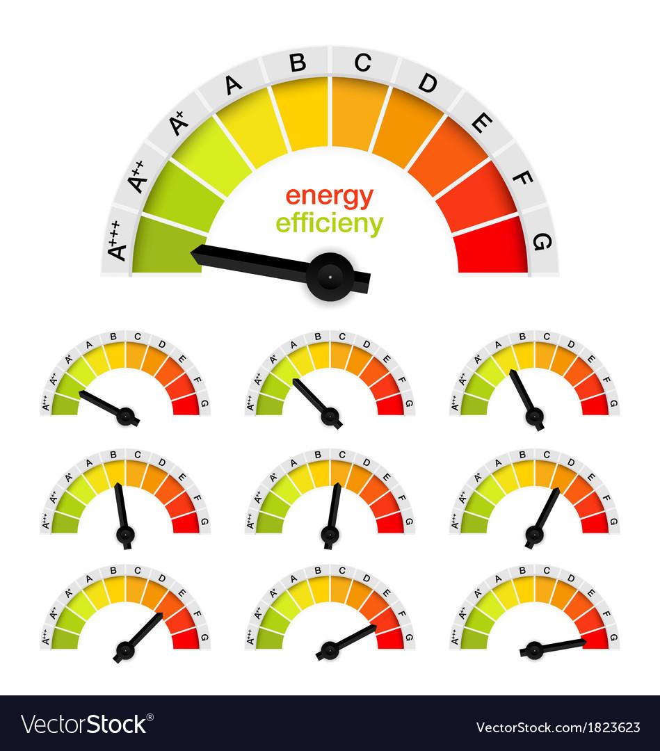 Percentage rating gouge background vector   Price: 1 Credit (USD $1)