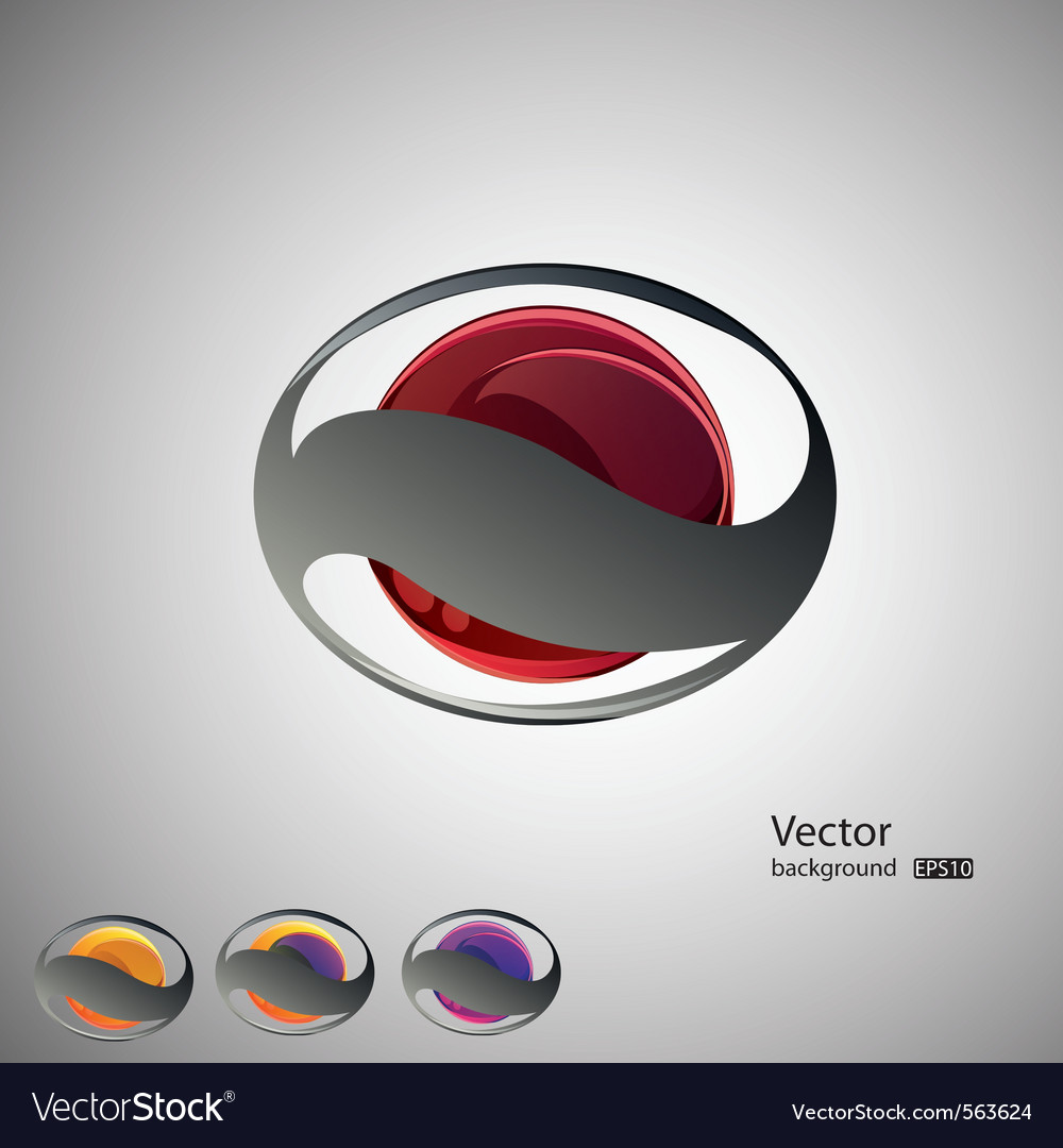 Abstract backgroundset vector | Price: 1 Credit (USD $1)