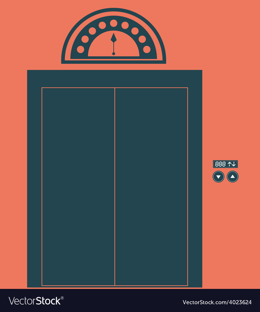 Elevator up down desing over vector   Price: 1 Credit (USD $1)