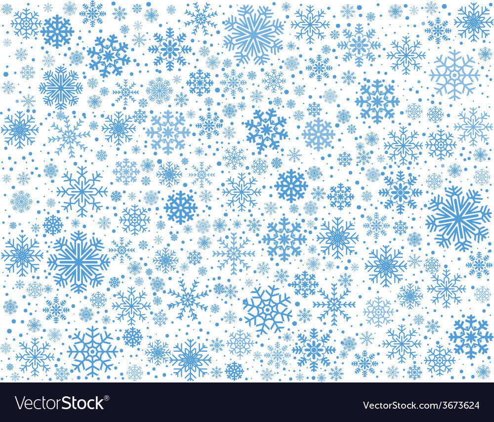 Frosty snowflakes background vector   Price: 1 Credit (USD $1)