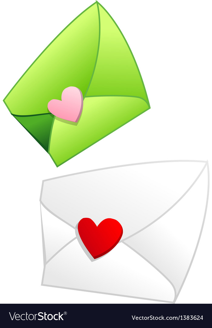 Icon letter envelope vector | Price: 1 Credit (USD $1)