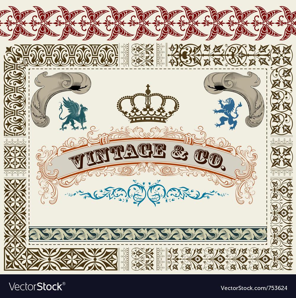 Royal set vector | Price: 1 Credit (USD $1)
