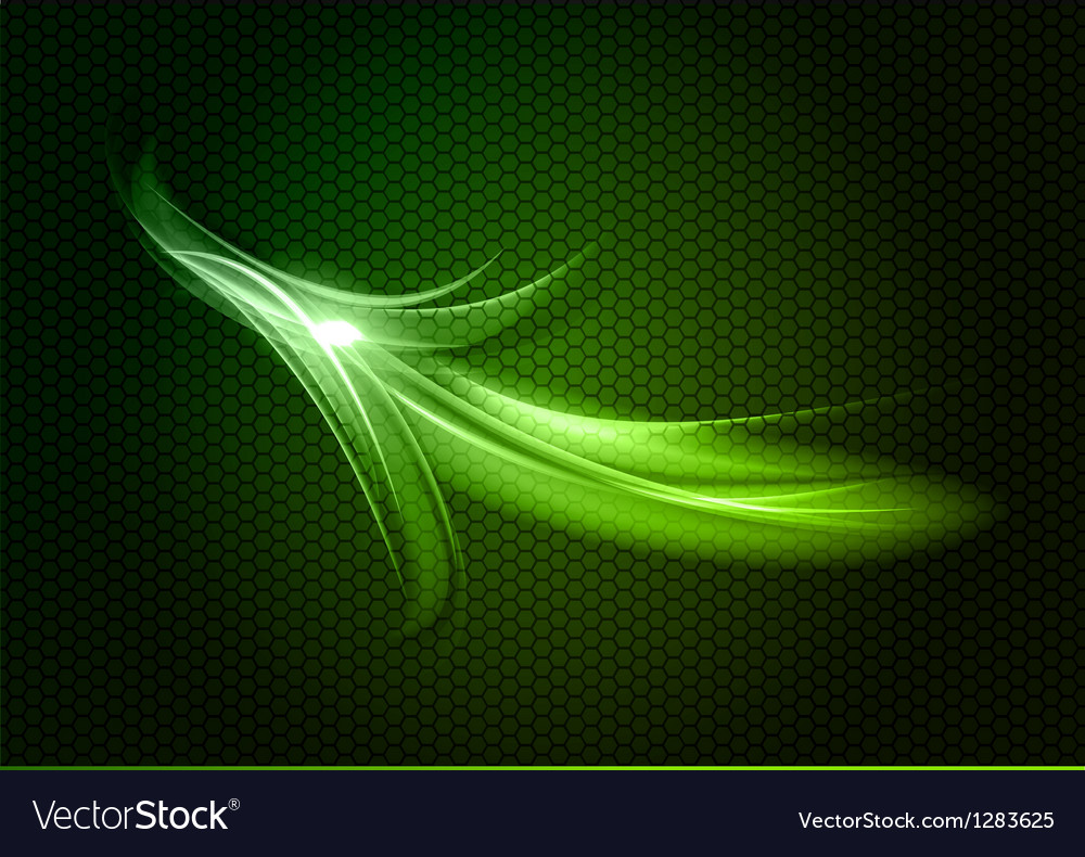 Abstract arrow green up vector | Price: 1 Credit (USD $1)
