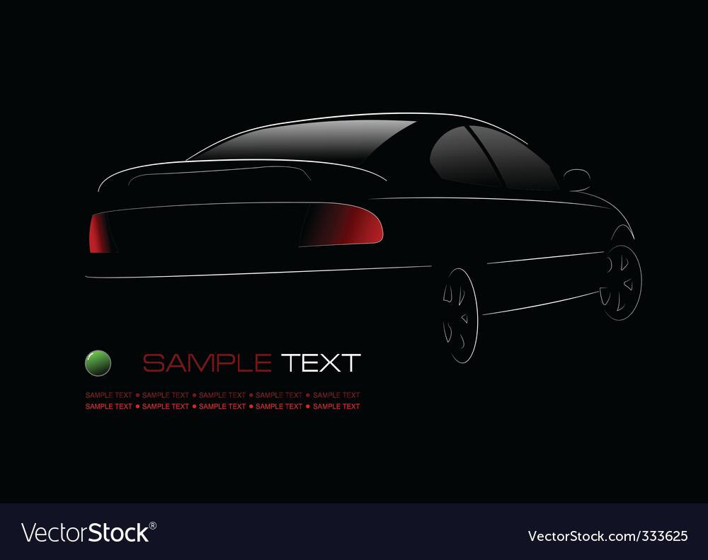 Car silhouette vector   Price: 1 Credit (USD $1)