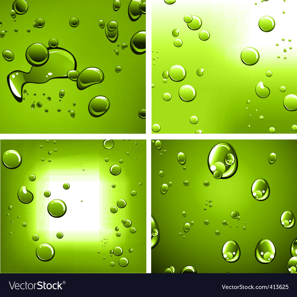 Liquid drops vector | Price: 1 Credit (USD $1)