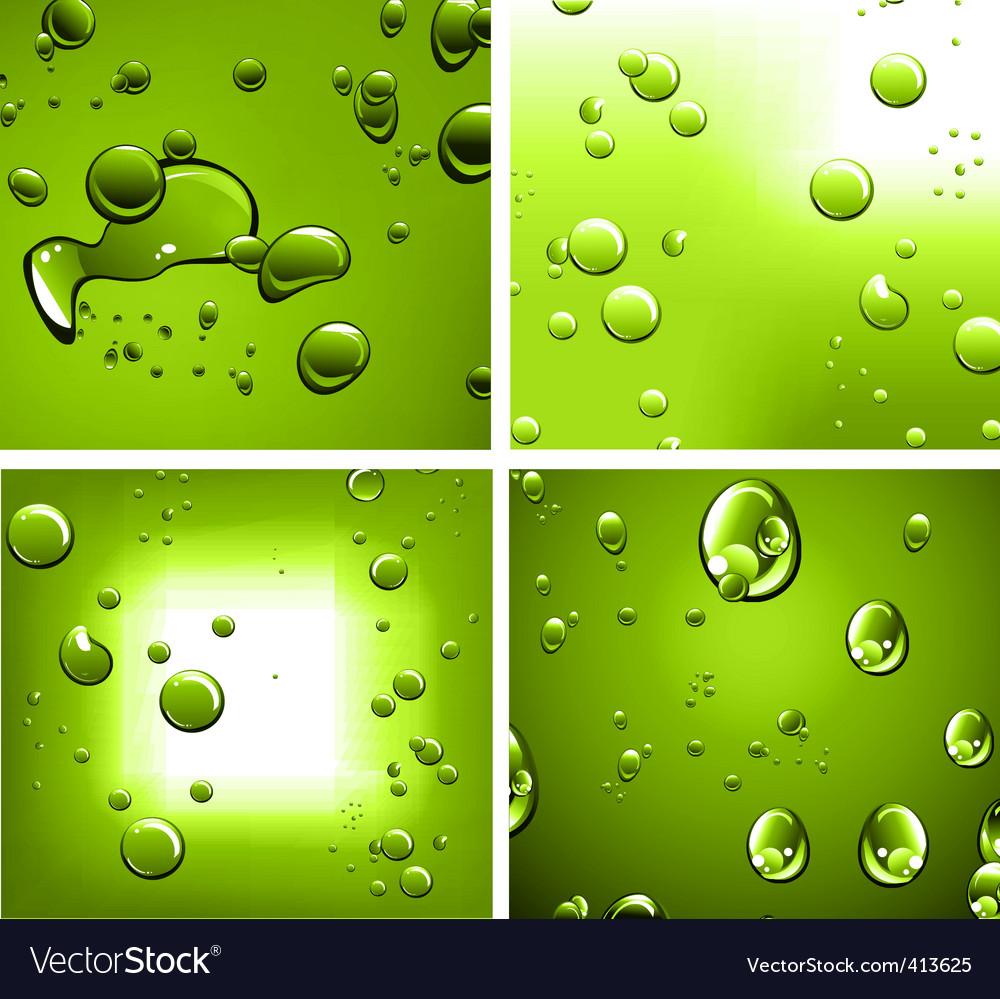 Liquid drops vector | Price: 1 Credit (USD $1)