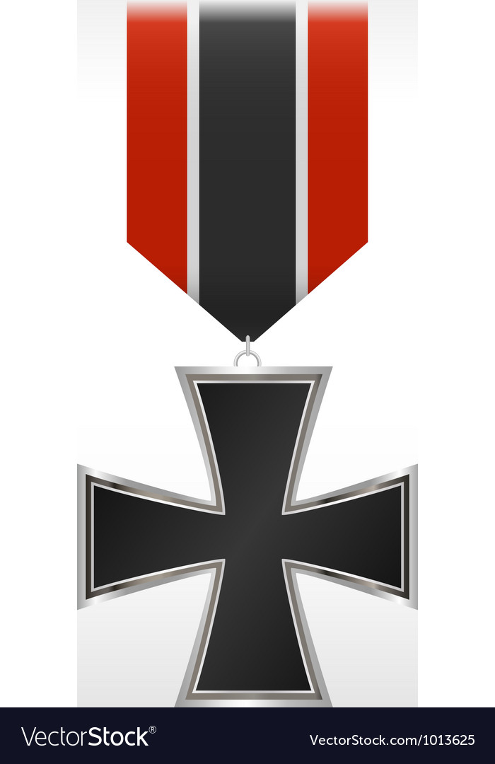 Medal cross vector | Price: 1 Credit (USD $1)