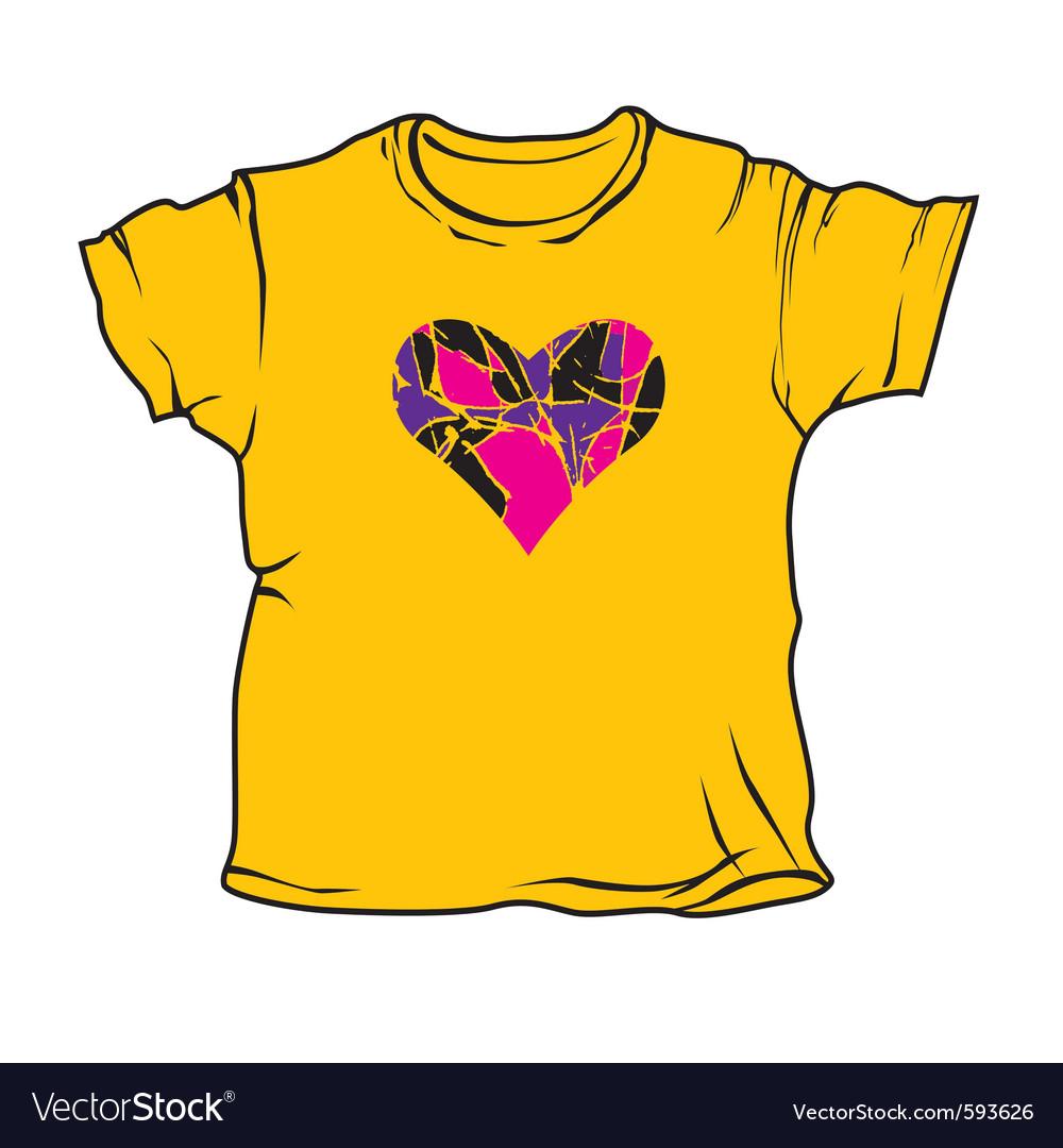 Cartoon t-shirts vector | Price: 1 Credit (USD $1)