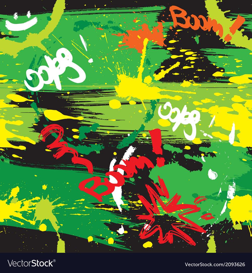 Paint blots vector | Price: 1 Credit (USD $1)
