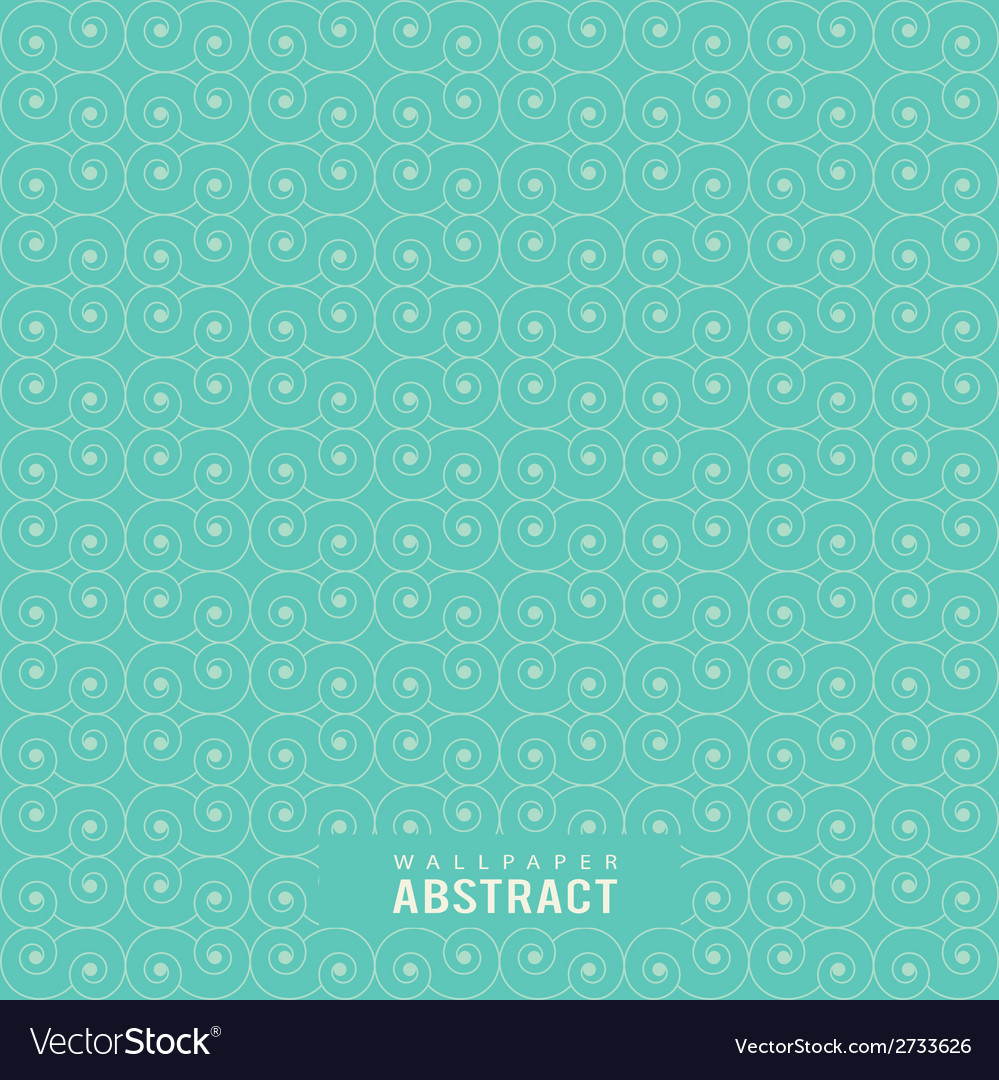 Wallpaper abstract circle line seamless pattern vector | Price: 1 Credit (USD $1)